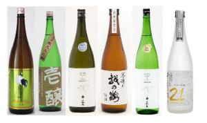 越銘醸の代表的な日本酒