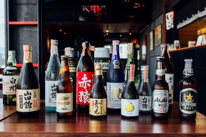 様々な種類のお酒