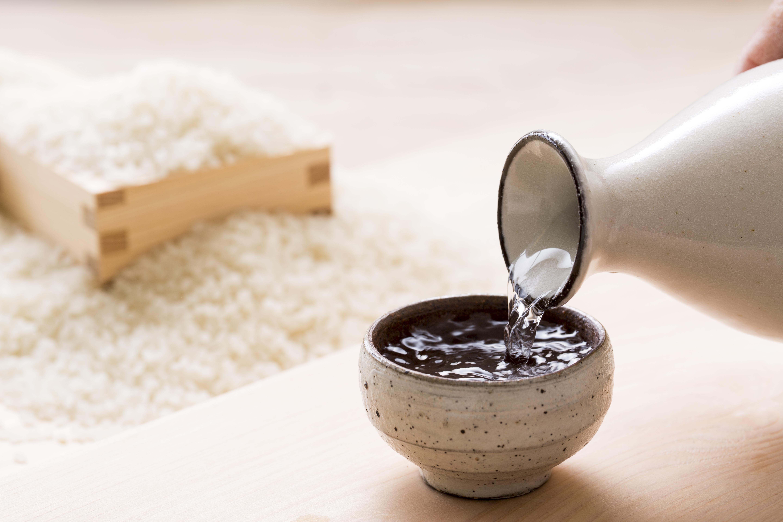 日本酒とお米
