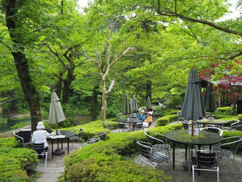 小澤酒造に併設されている澤ノ井園