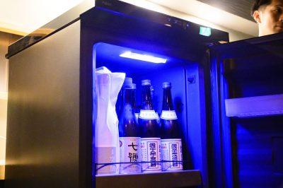 -5℃管理可能な日本酒セラー「SAKE CABINET」