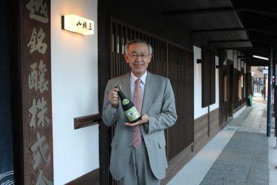 越銘醸社長の小林幸久さん