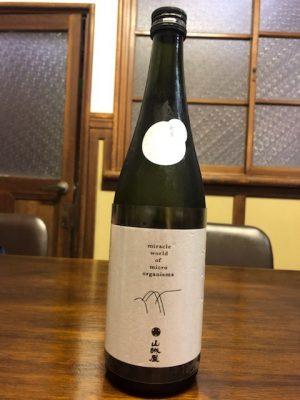山城屋の一級酒である「山城屋ファーストクラス」。バナナに似たコクを感じる日本酒です。